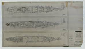 uss indianapolis ca 35 booklet of general plans sheet 166009