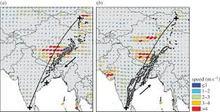 Waterfowl Migration Map The Paradox Of Extreme High Altitude Migration In Bar Headed Geese