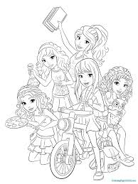 lego friends coloring pages colotring pages