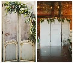 Wedding Backdrop Doors Upcycled Wedding Décor U2013 Nine Uses For Old Doors Wedding Journal