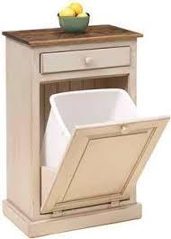 Best  Trash Can Cabinet Ideas On Pinterest Cabinet Trash Can - Kitchen cabinet garbage drawer