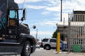 semi truck companies five months later pilot program has seen little cross border