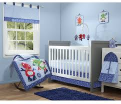 Spaceship Crib Bedding by Robot Crib Blanket Baby Crib Design Inspiration