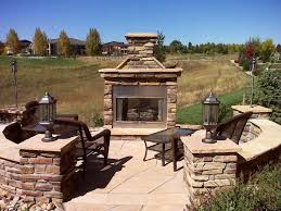 Patio Fireplace Kit by Prefab Outdoor Fireplace Stones Rberrylaw Cozy And Beautiful