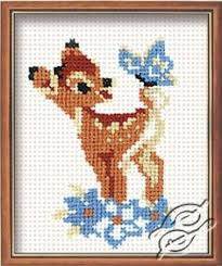 deer cross stitch charts 27 evenweave friends fawn