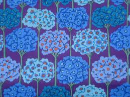 kaffe fassett home decor fabric kaffe fassett verbena cobalt blue rowan fabrics fq or by claydeal