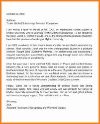 7 letter for scholarship sample ledger paper