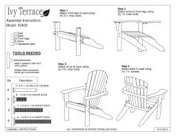 plastic adirondack chairs with ottoman ivy terrace ivy terrace classics plastic adirondack chair with
