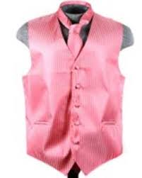 peach five button vest tie mens tuxedo dress shirt