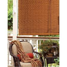 Bamboo Patio Shades Astounding Roll Up Shades Outdoor Patio From Dried Bamboo Sticks