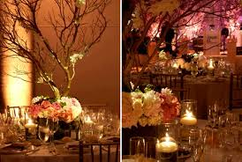 branches for centerpieces branches on onewed