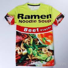 best t shirt shop new ramen noodle soup 3d t shirt s sleeve