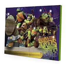 amazon com nickelodeon teenage mutant ninja turtles led canvas