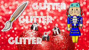 live holiday painting idea glitter nutcracker ginger cook live
