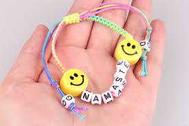 bracelet handmade jewelry images Handmade jewelry charm bracelets for women gd emoji ceramic beads jpg