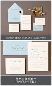 handwritten wedding invitations handwritten wedding invitations gourmet invitations