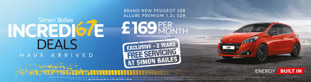 peugeot lease scheme new u0026 used peugeot north east simon bailes