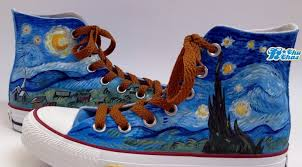 galaxy nebula shoes 2013 galaxy high top painted canvas shoes