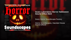 scary laboratory horror halloween sound effect bed youtube