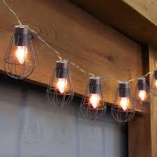 led lantern string lights marvelous solar powered led lantern string lights metal cage bulb
