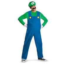 Mario Luigi Halloween Costume Super Mario Bros Costumes Buycostumes