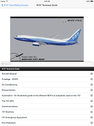 boeing 737 300 400 500 ng type rating exam quizzes app ranking and