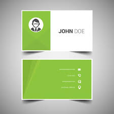 Business Card Backgrounds Free Download Green Elegant Business Card Template Free Vectors Ui Download