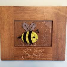 Bumble Bee Nursery Decor Bumble Bee String Don 39 T Worry From Edgeofthewoodsa