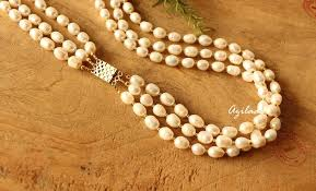 long pearl beaded necklace images Long necklace long gold chain necklace jpg