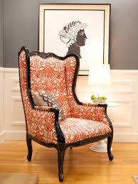 Orange Living Room Chair Home Design Ideas - Chair living room