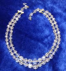 vintage rock crystal necklace images Vintage rock crystal necklace at classy option clear crystal 2 jpg