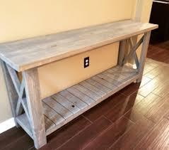 Farmhouse Console Table Diy Farmhouse Console Table
