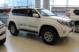 i would like to introduce the arctic truck built toyota prado