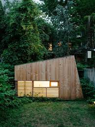 hunt architecture u0027s garden studio offers a tiny backyard retreat