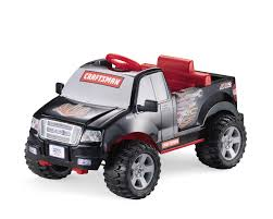 power wheels 6v battery toy ride 150 craftsman truck