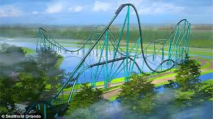 speed of roller coaster seaworld orlando unveils florida s fastest and