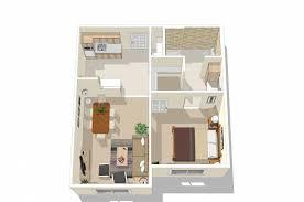 maranatha north glenn one bedroom rendering house