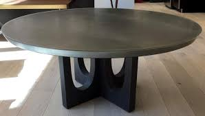 new grand pedestal coffee table design by wud furniture brooklyn