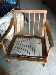 mcm chair walnut otto gerdau on back my antique furniture