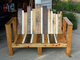 easy beach or garden bench out of scrap wood pictures with