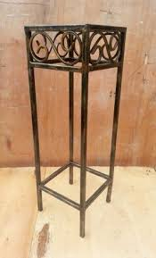 Wrought Iron And Wood Nightstands Wrought Iron Bedside Table Foter