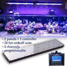 best lighting for corals 48 dimmable aquarium fish tank led light coral reef sps lps marine