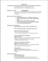 sample resumes for warehouse jobs example perfect resume resume
