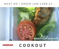 what do i order at cookout keto kary