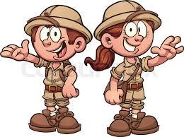 safari cartoon cartoon safari kids vector clip art illustration with simple