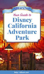 Disney California Adventure Map Disney California Adventure