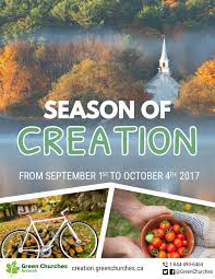 season of creation green churches