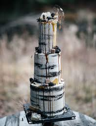 the hottest trend in wedding desserts drip cakes drip cakes