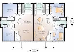 multi level home floor plans house plan split level duplex square bedrooms architecture