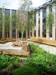 Courtyard Designs by Case Study Of Landscape Design Of Woodland Trust Headquarters By